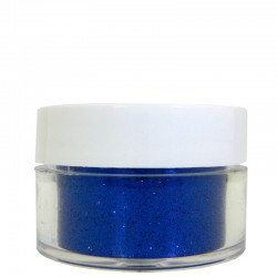 Blue Glitter, Extra-Fine Hex Cut, .5oz