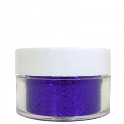 Deep Purple Glitter, Extra-Fine Hex Cut, .5oz