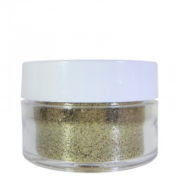 Gold Glitter, Extra-Fine Hex Cut, .5oz