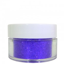 Medium Purple Glitter, Extra-Fine Hex Cut, .5oz