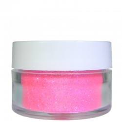 Bright Pink Glitter, Extra-Fine Hex Cut, .5oz