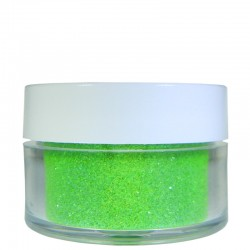 Bright Green Glitter, Extra-Fine Hex Cut, .5oz