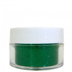 Emerald Green Glitter, Extra-Fine Hex Cut, .5oz