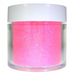 Bright Pink Glitter, Extra-Fine Hex Cut, 1oz