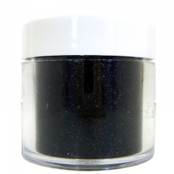 Black Glitter, Extra-Fine Hex Cut, 1oz